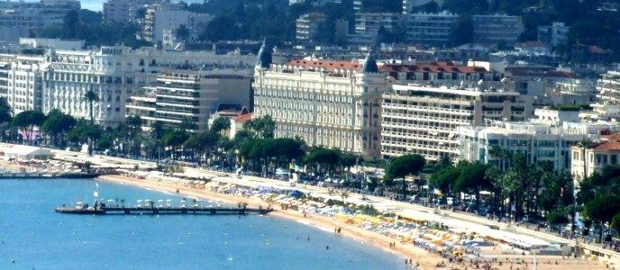 La Croisette à Cannes accueille chaque années les stars pour le festival de Cannes.