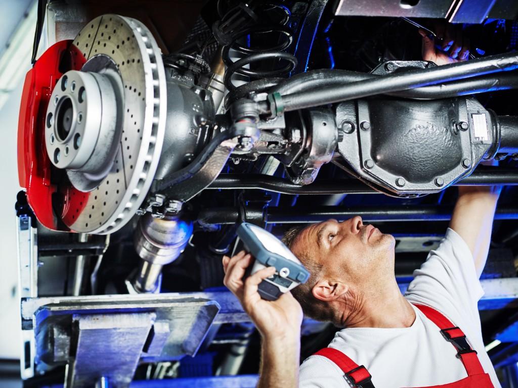 Controle technique plaquette de freins