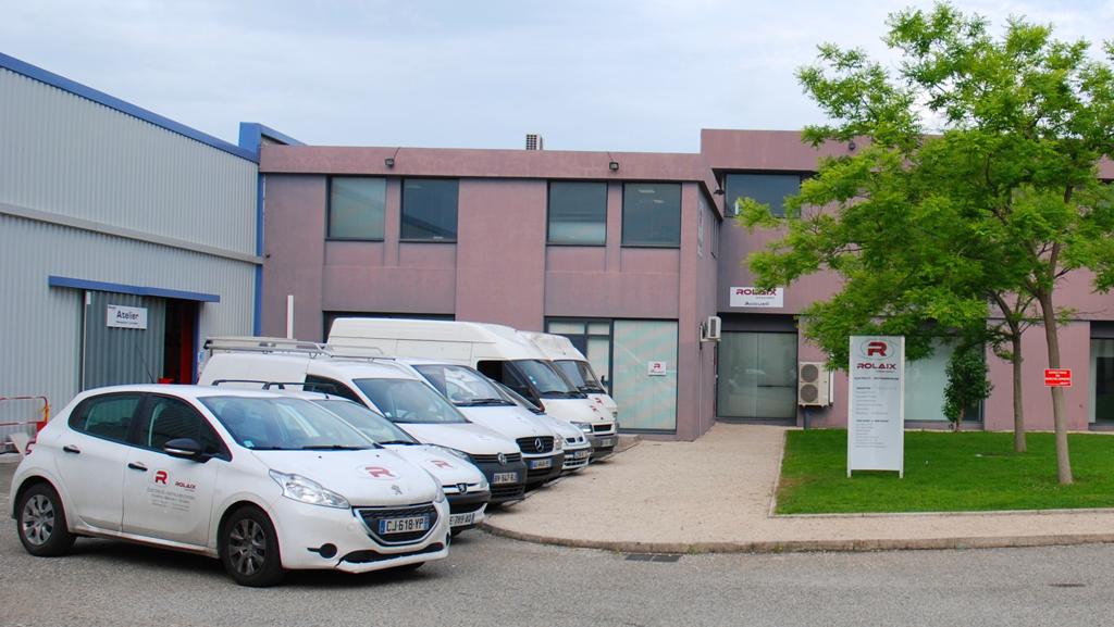 Le siège social de l'entreprise est situé dans la zone industrielle des Estroublans à Vitrolles.