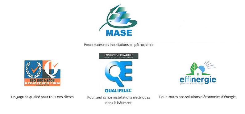 Les 4 certifications obtenues par Rolaix.
