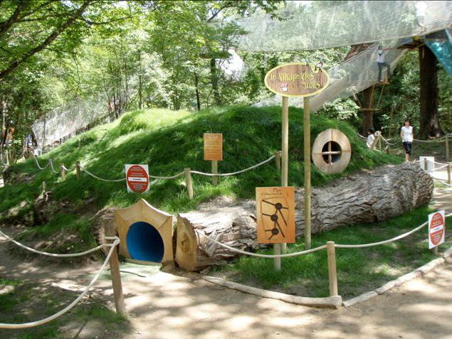 Vous pourrez découvrir lutins, gnomes et elfes dans le bois du petit peuple.