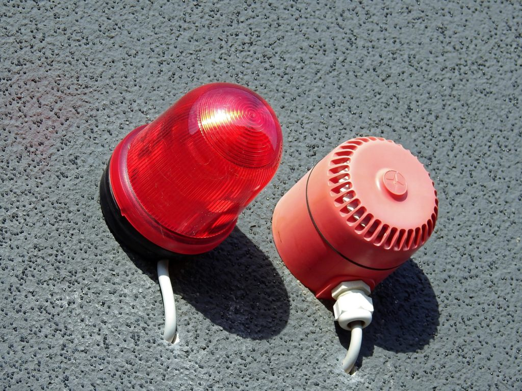 alarme intrusion et girophare